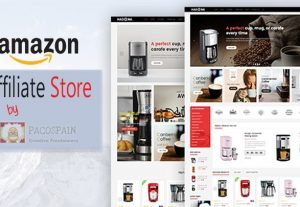 Amazon Affiliate Site – E-Commerce Store