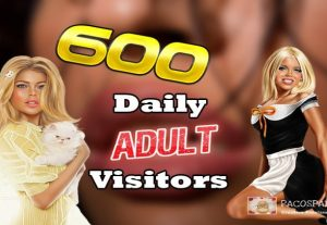 We Send 600 Daily Keyword Targeted Adult Traffic