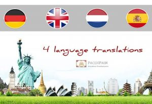 Translation Into English, Dutch, Spanish Or German
