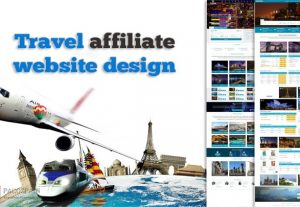 We Design A Travel Affiliate Website