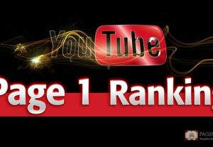 Rank Your YouTube Video Page 1