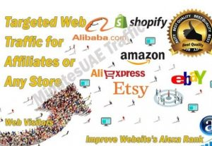 High-quality web traffic for Affiliates, Amazon, eBay, Alibaba, AliExpress, Etsy