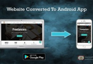 Convert Your Website To an Android App