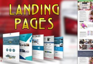Landing Page Design For Your Website