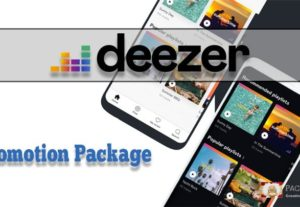 Deezer Promotion Package For All Your Music Tracks
