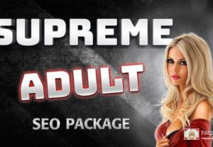 Supreme Adult SEO Ranking Package – Boost To The Top!