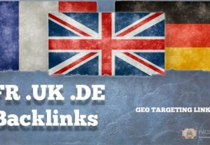 We Will Create Exclusively Country Specific Domain Backlinks For Your Website